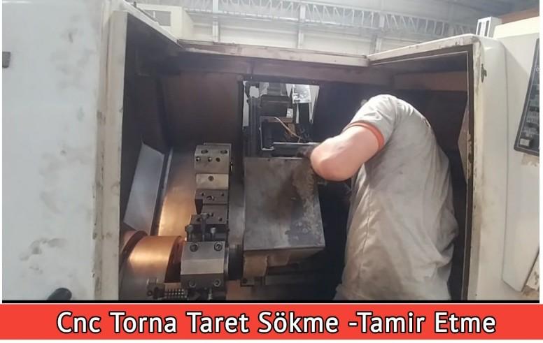 Cnc Torna Taret Sökme -Tamir Etme
