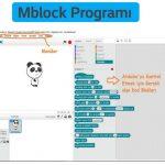 Mblock Programı dersleri
