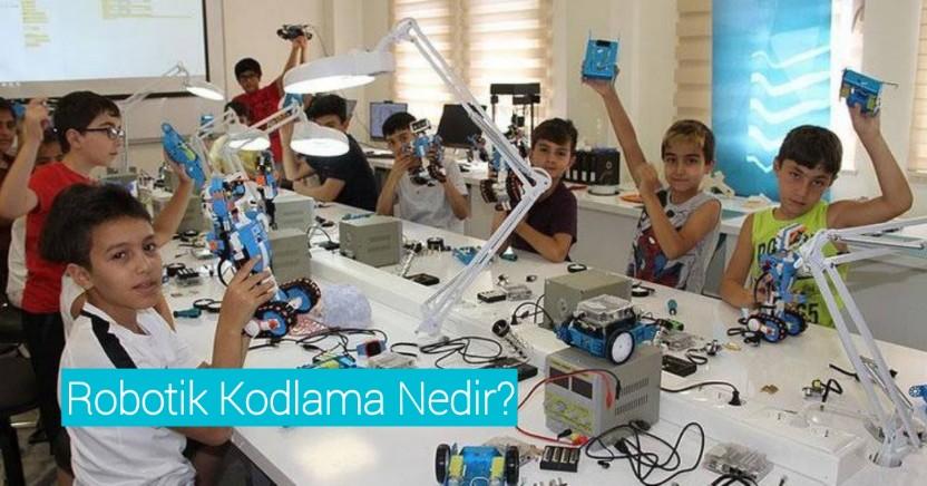 Robotik kodlama nedir ne işe yarar