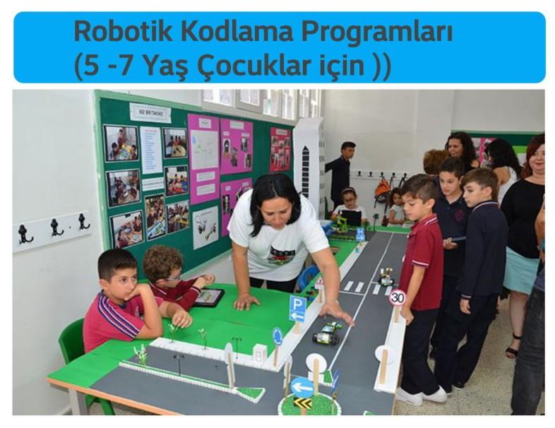 Robotik Kodlama Programları (5 -7 Yaş Çocuklar için ))
