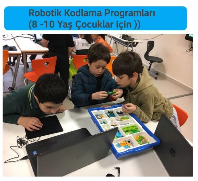Robotik Kodlama Programları (8 – 10 yaş çocuklar için )