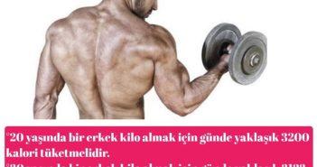 Sporcular günlük nekadar kalori alıyorlar