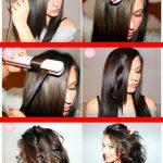 Saç düzleştirici ile Dalgalı saçlar nasıl yapılır