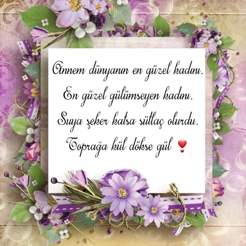 Anneye en güzel sözler
