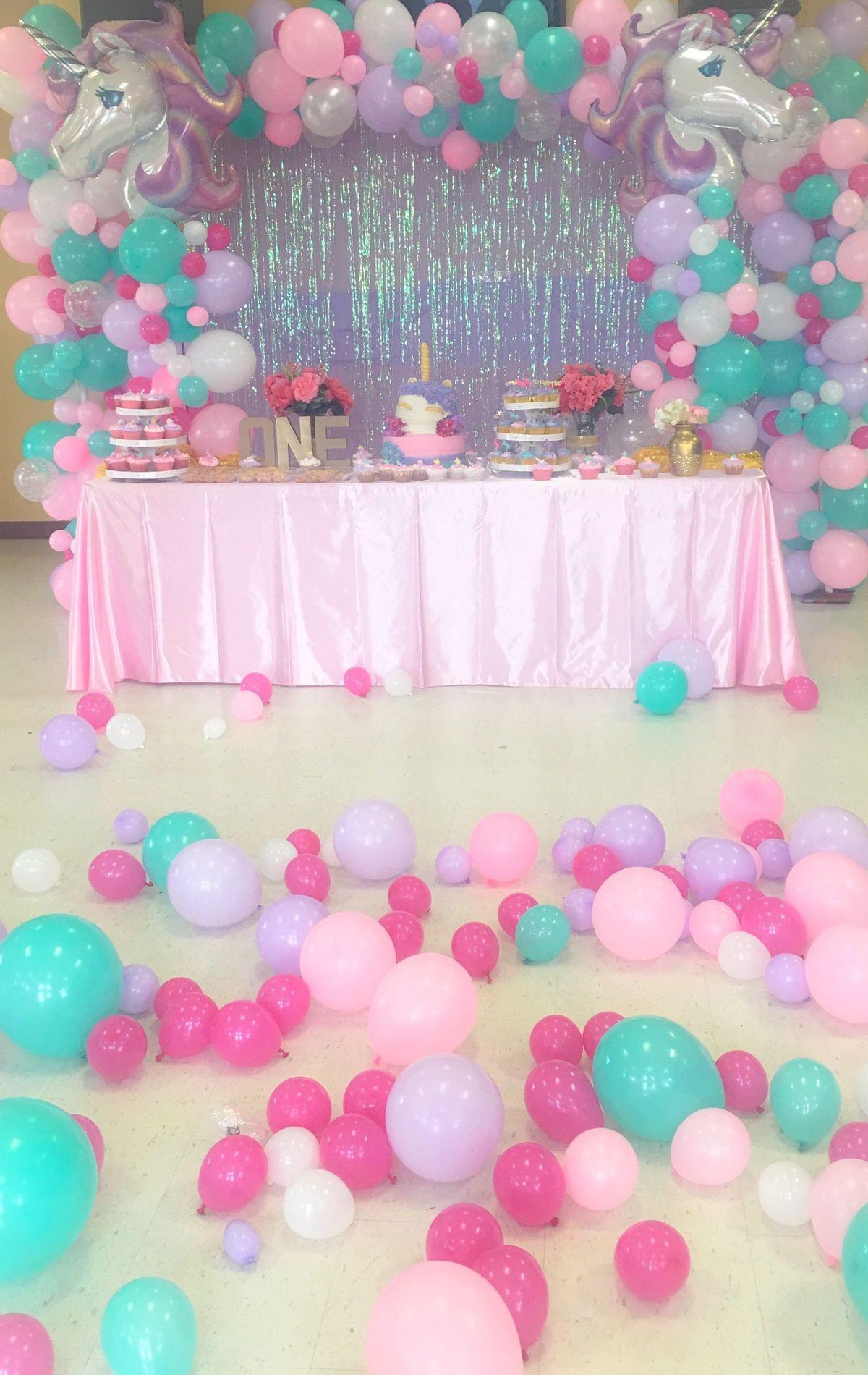 Doğum Günü kutlama süsler balonlar örnekler
