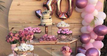 30 yaş bayan doğum günü örnek konsep ler