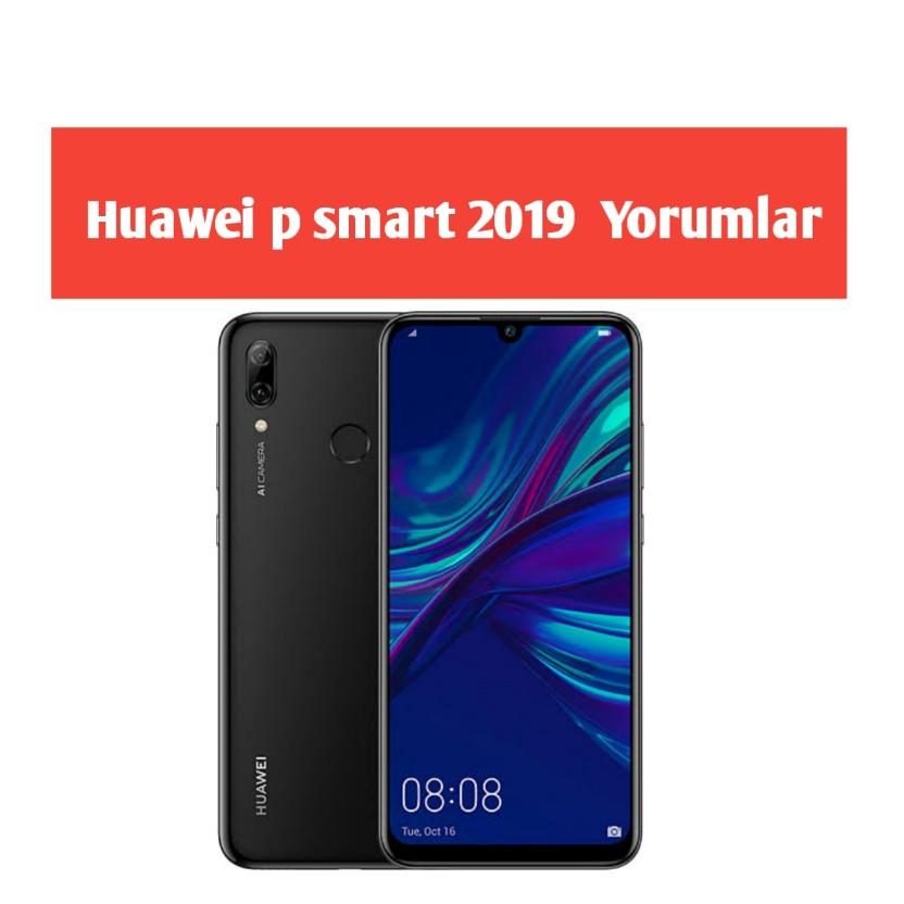 huawei p smart 2019 Kullanan