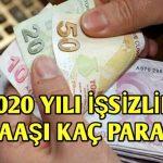 işsizlik maaşı nakadar 2020