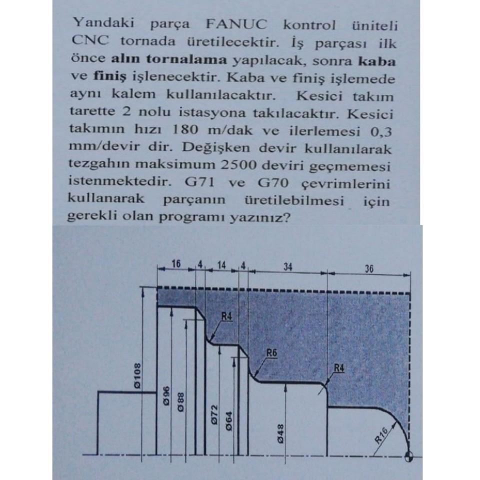 Cnc torna g02 örnek programlar