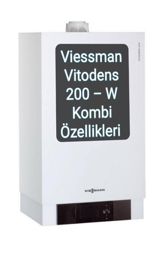 Viessman Vitodens 200 – W resimleri