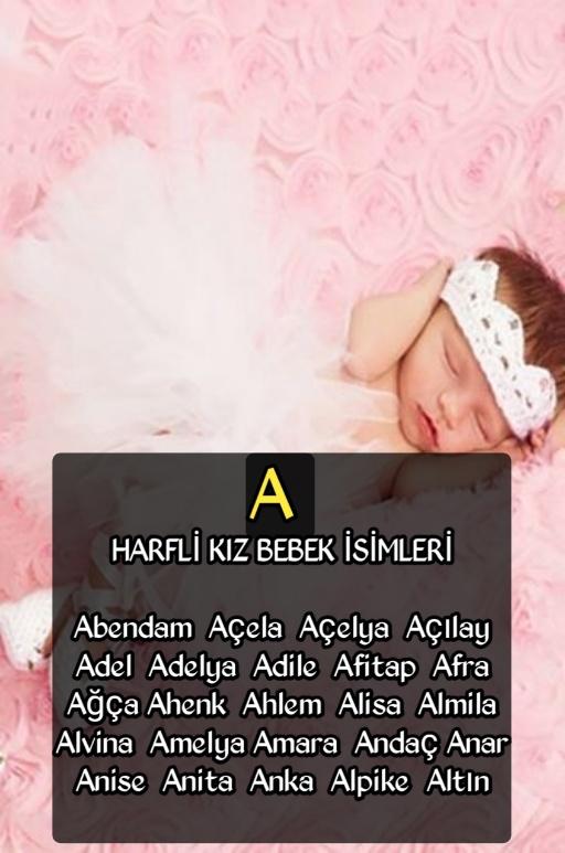 En şık kız bebek isimleri