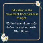 Eğitim ile ilgili ingilizce Sözler
