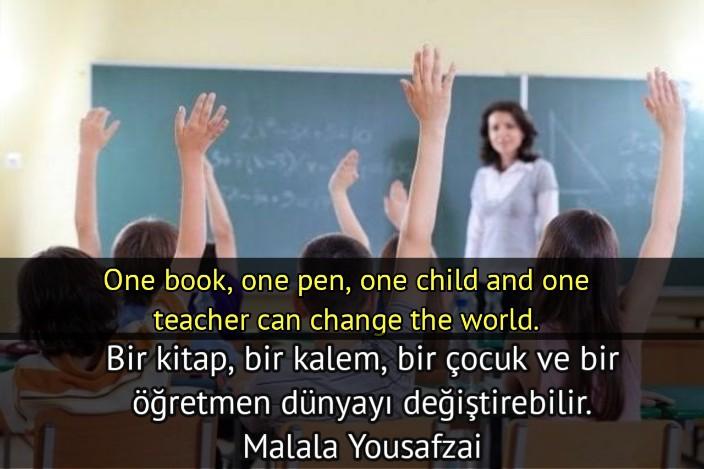 öğretmenin onemi ile ilgili sözler