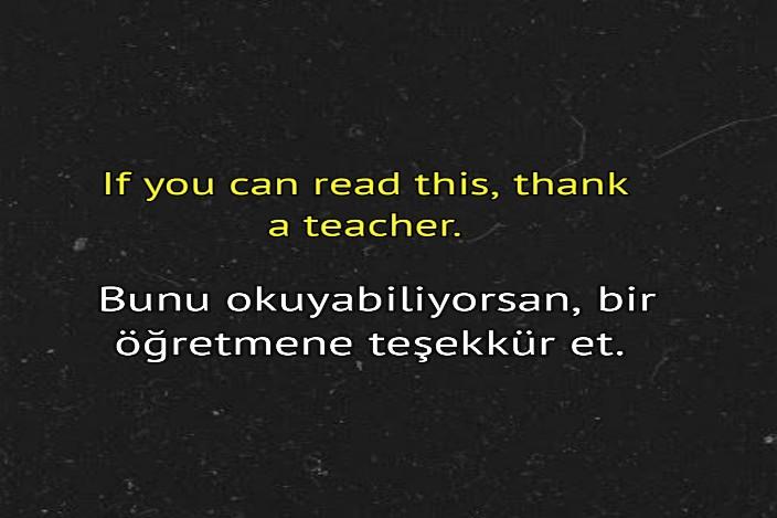 öğretmen ile ilgili özlü sözler