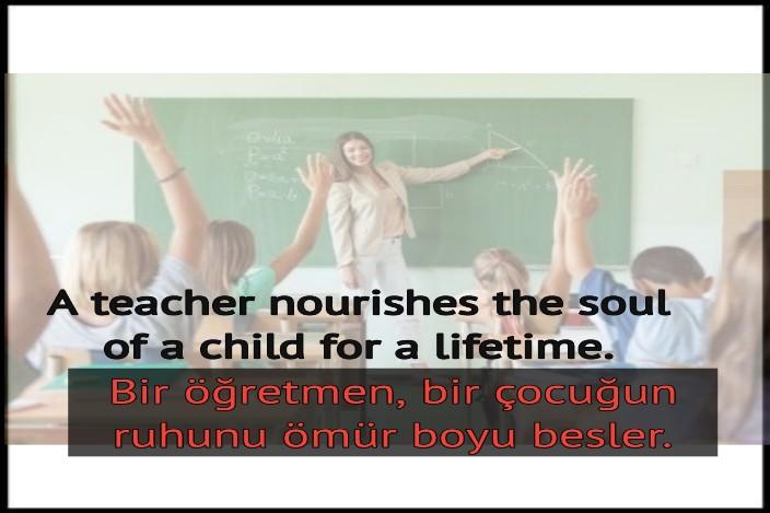 öğretmen ile ilgili sözler resimli