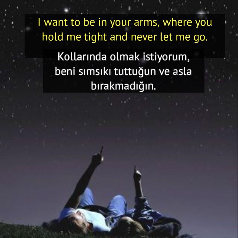 Aşk Sözleri İngilizce  ve Türkçe