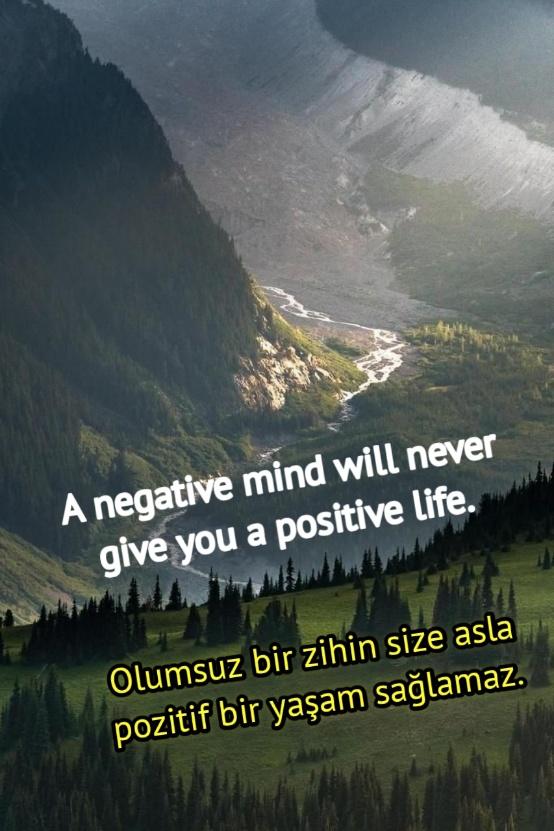 ingilizce Türkçe motive edici sözler instagram
