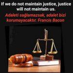 Adaleti sağlamak ile ilgili sözler