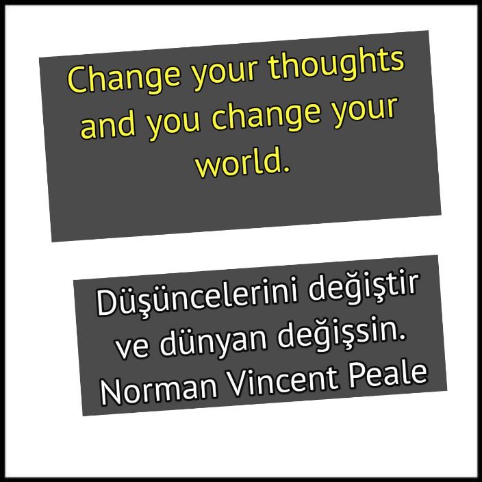 Değişim ile ilgili ingilizce kelimeler