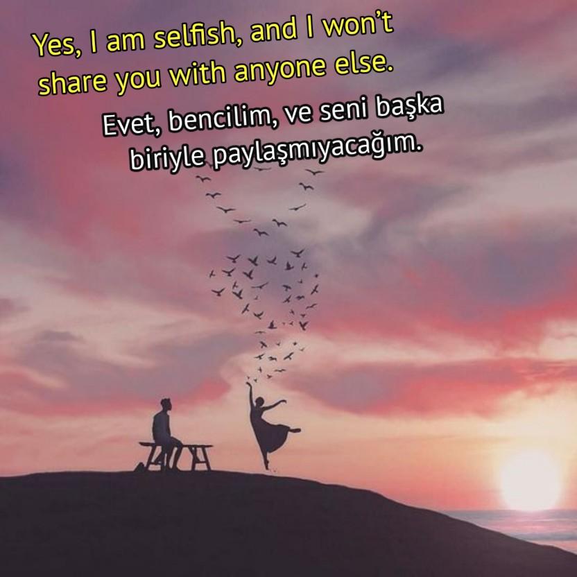 İngilizce en güzel aşk sözleri etkileyici