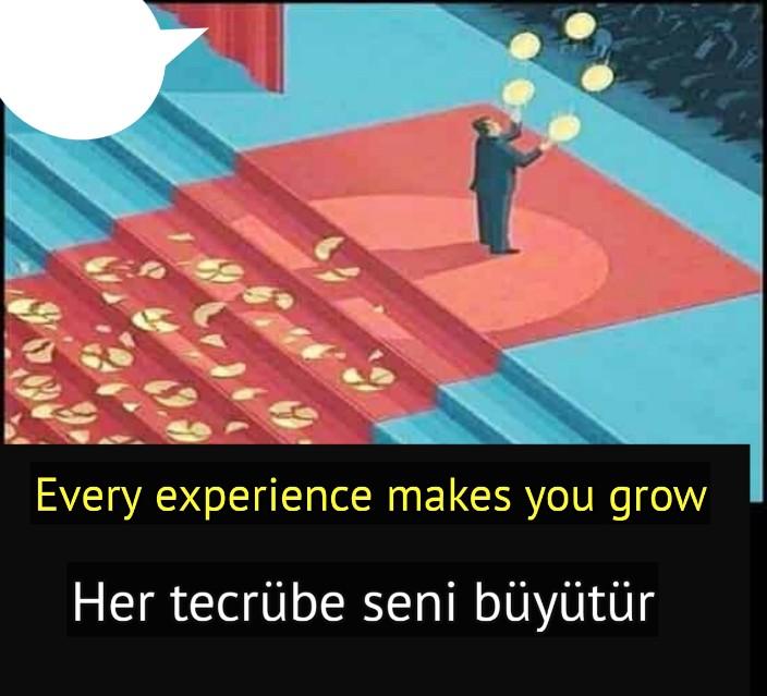 Tecrübe sözleri ingilizce türkçe anlamları