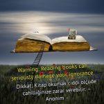 Kitap okumak ile ilgili ingilizce Sözler