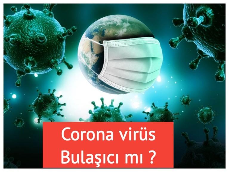 Corona virüs nasıl bulaşır