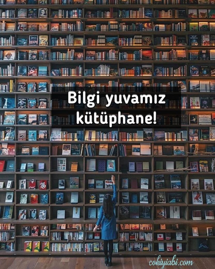 Kütüphane haftası slogan