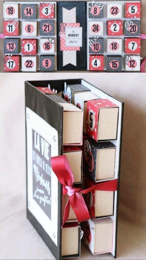 14 şubat sevgililer günü el yapımı hediye kutu kutu