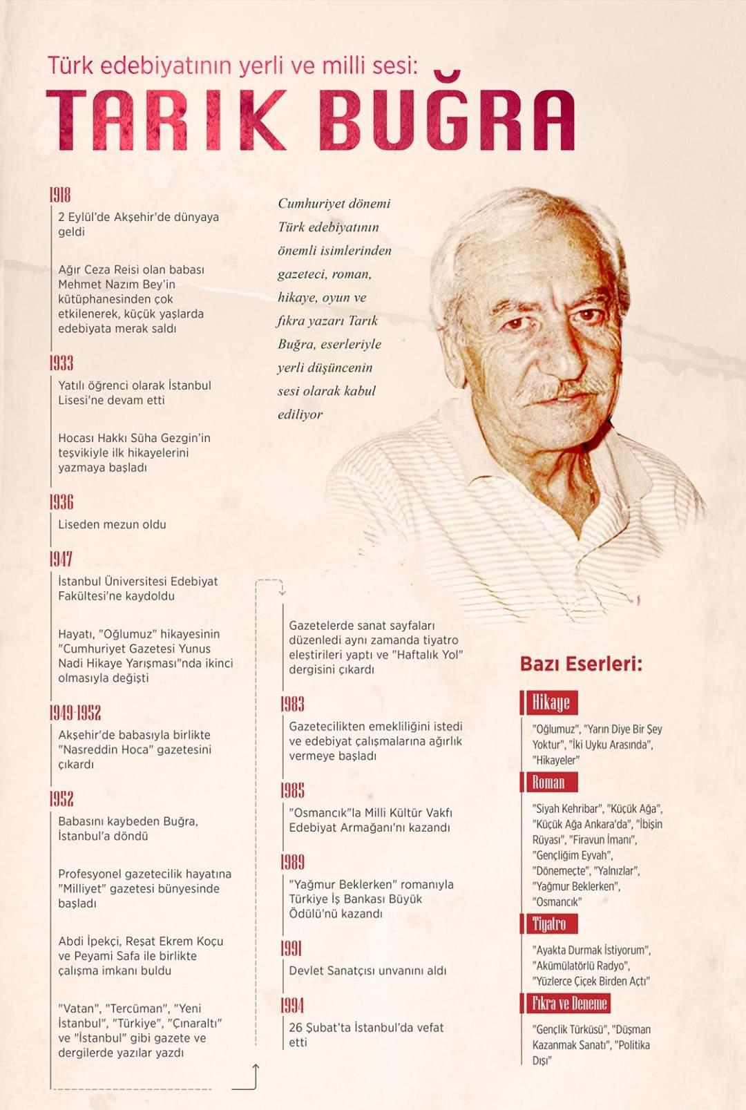 Tarık Buğra biyografisi