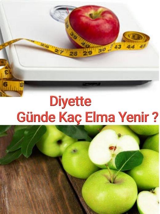 Diyet yaparken günde kaç elma tüketilmeli