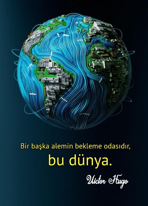 Dünya ile ilgili Resimli sözler