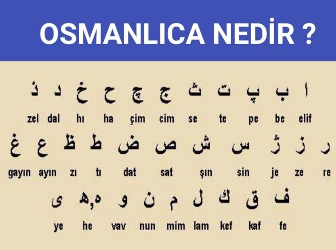 Osmanlıca alfabesi