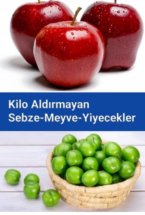 Patlayana Kadar Yesenizde Kilo Aldırmayacak kalorisi Düşük Sebze ve Meyveler