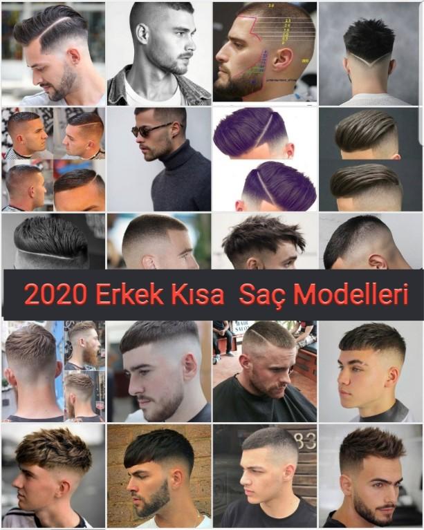 Erkek Kısa Saç Modelleri 2020