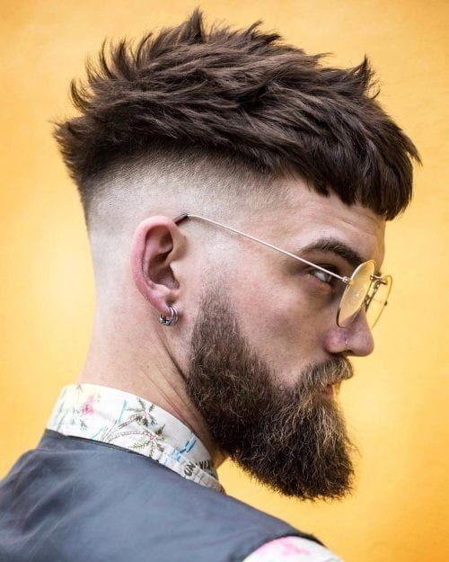 Erkek saç modelleri uzun sakal