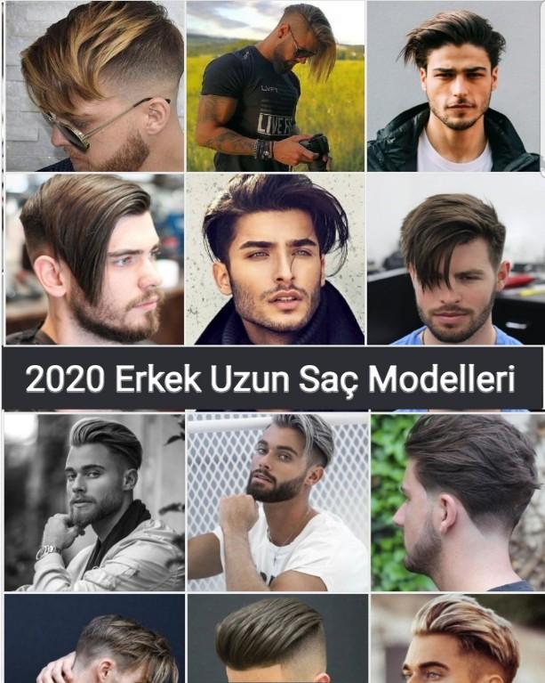 Erkek Uzun Saç Modelleri 2020