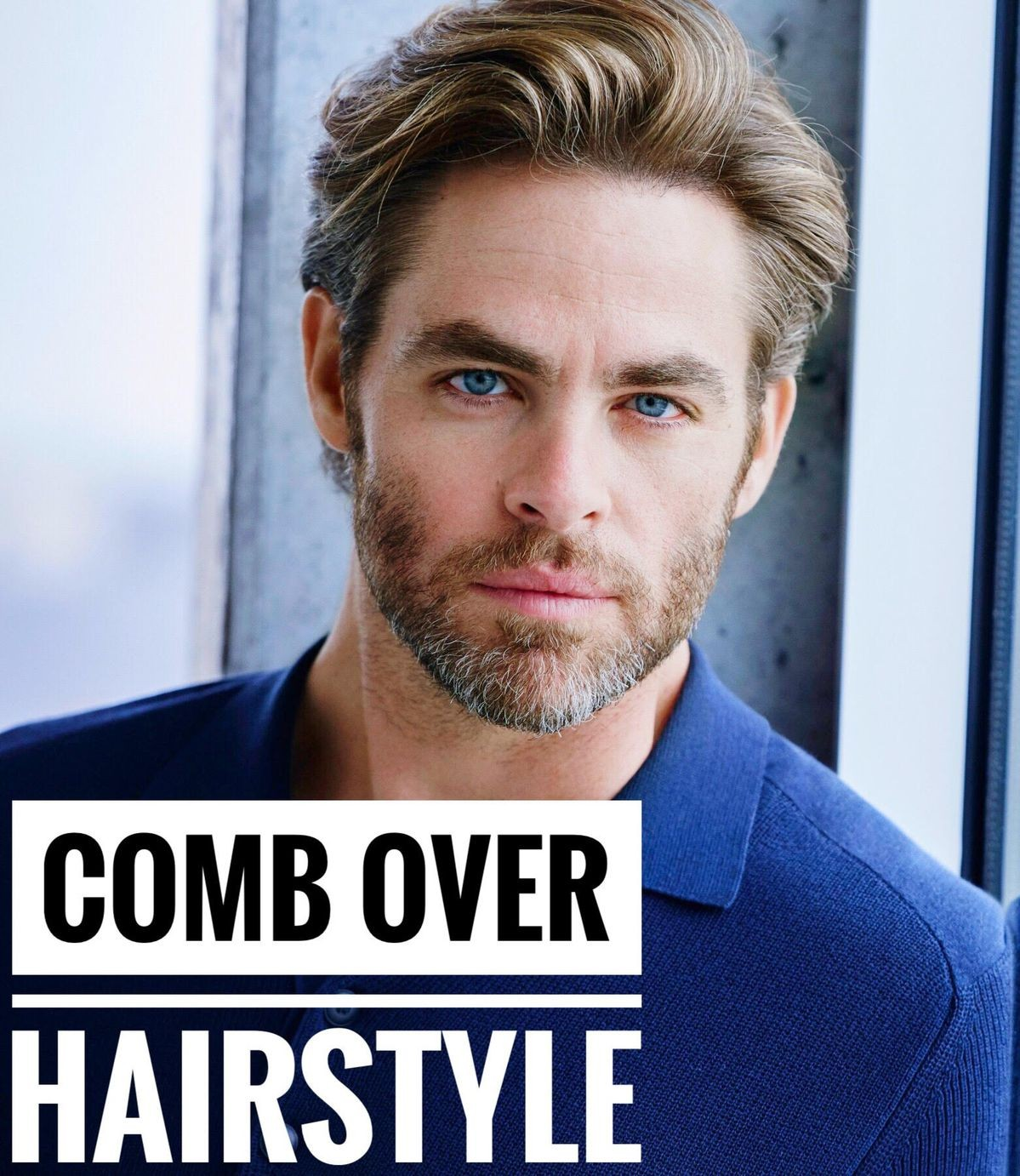 Comb over hairstyle