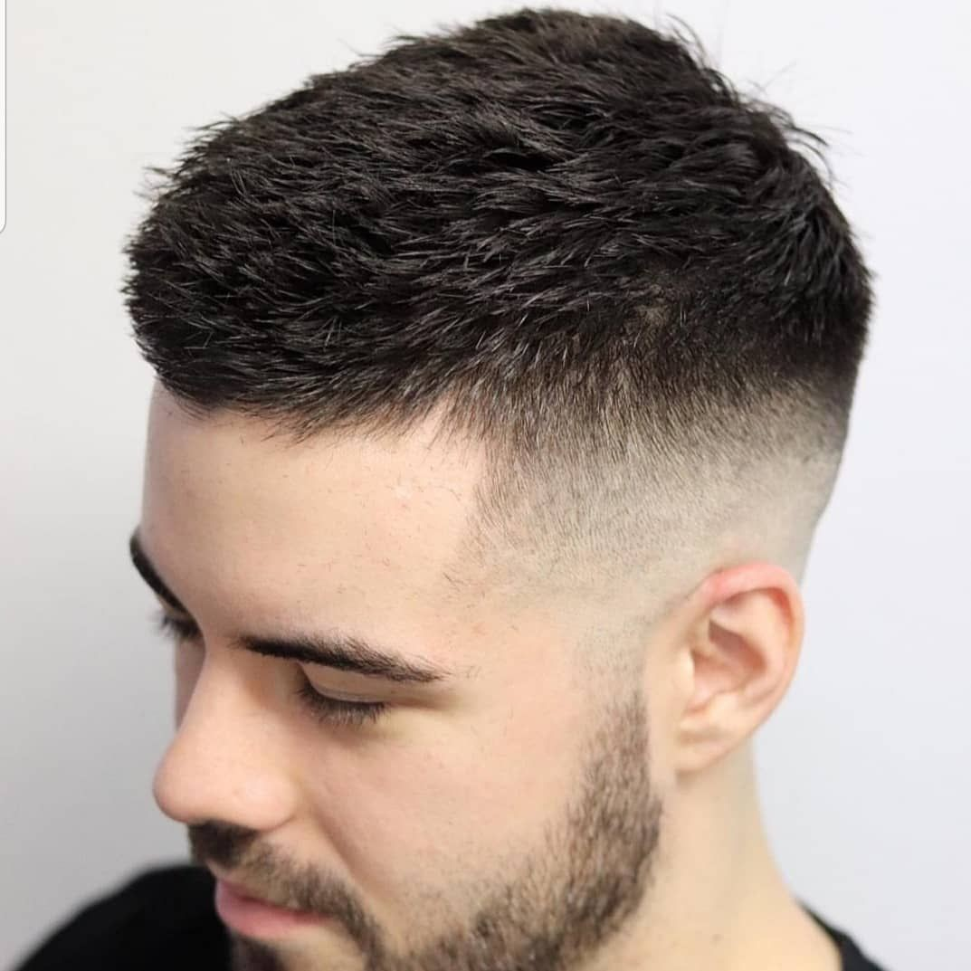 Crew cut hairstyle