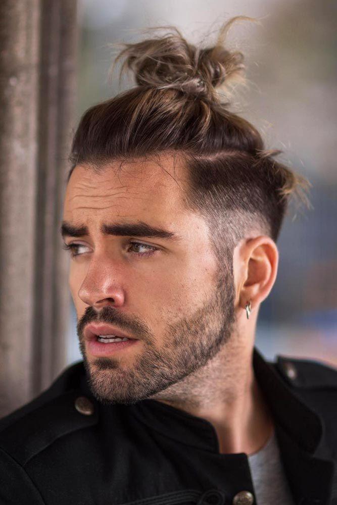 Ma bun Erkek Topuz Saç Modelleri
