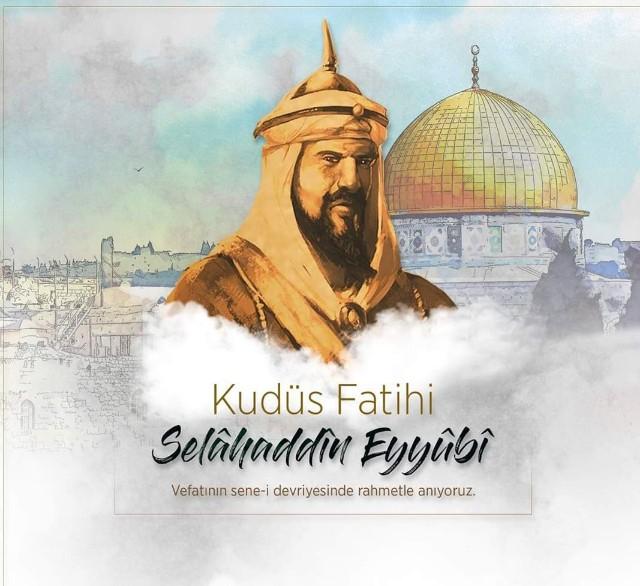 Selahaddin Eyyubi Ölüm Yıl Dönümü Mesajları