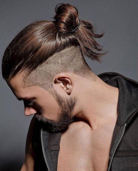 Erkek Topuz Saç Modelleri yeni