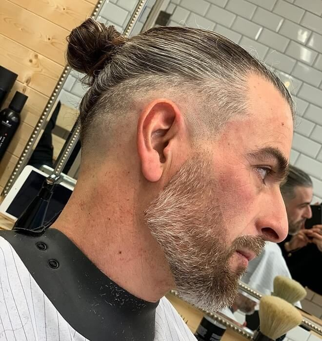 Erkek Topuz Saç Modelleri kataloğu