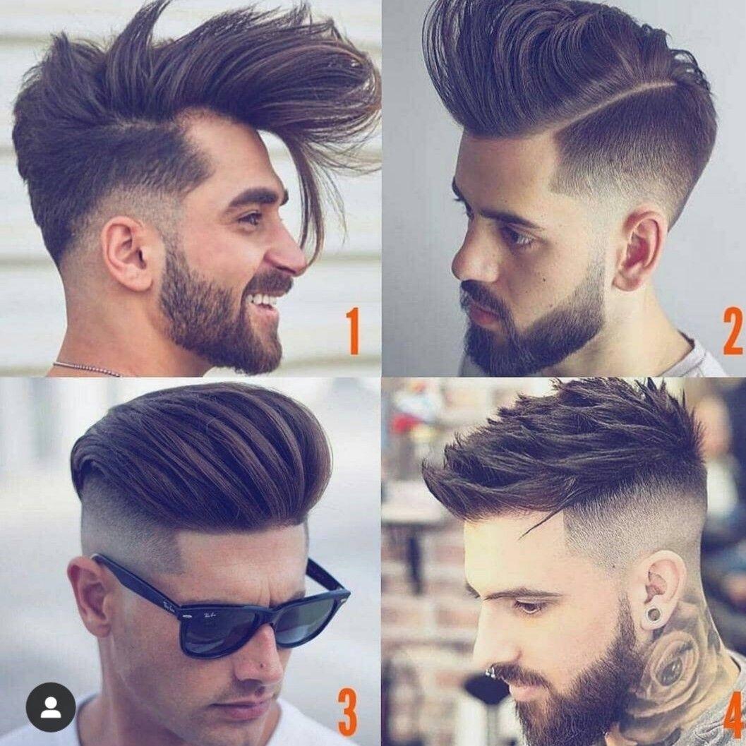 Yanlar Kısa Erkek Saç Modelleri
