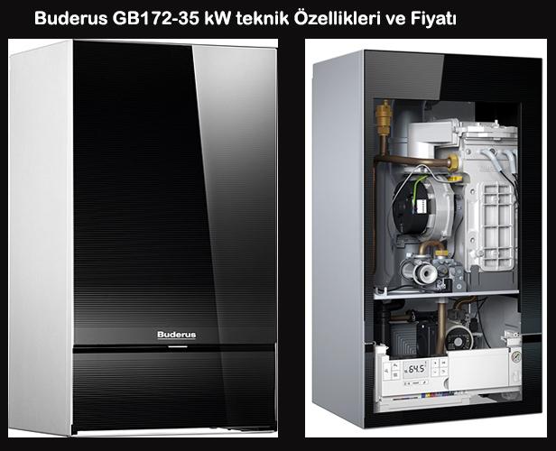 Buderus GB172-35 kW teknik Özellikleri ve Fiyatı
