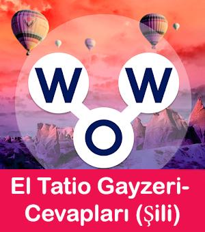 wow El Tatio Gayzeri cevapları