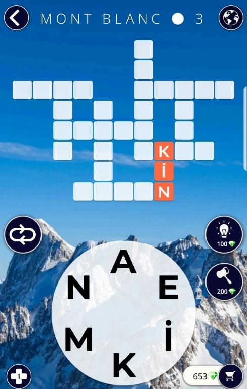 Mont Blanc 3.Bölüm Cevapları (Wow- Kelime Bulmaca Oyunu)