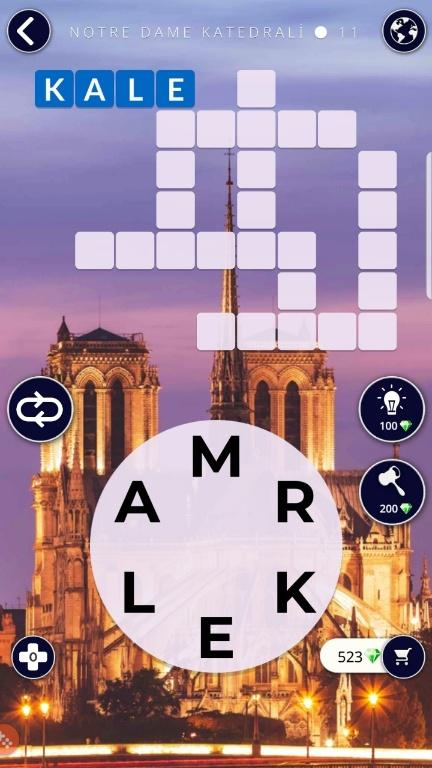 Notre Dame Katedrali 11.Bölüm Cevapları (Wow- Kelime Bulmaca Oyunu)