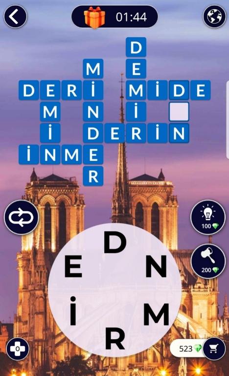 Notre Dame Katedrali 8.Bölüm Cevapları (Wow- Kelime Bulmaca Oyunu)