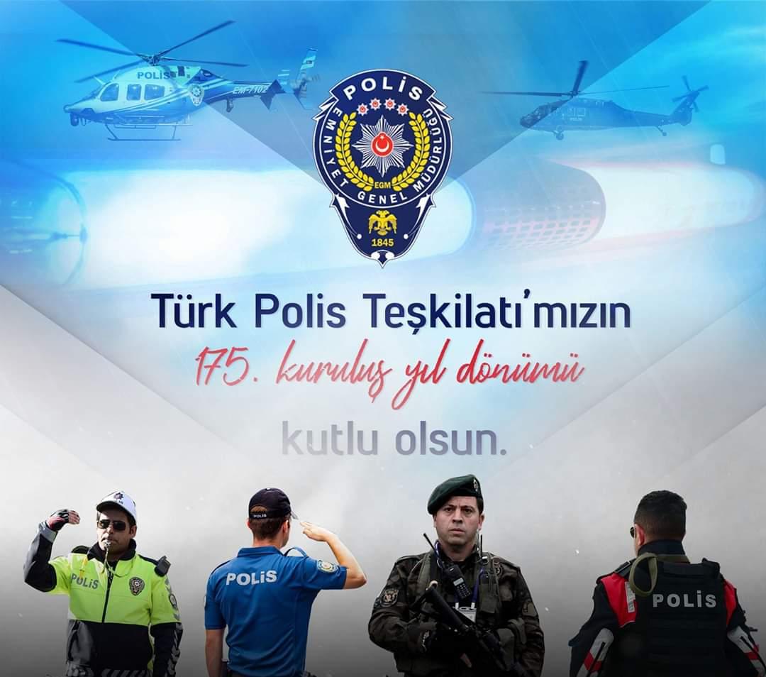 Türk polis Teşkilatı haftası mesajları Resimli